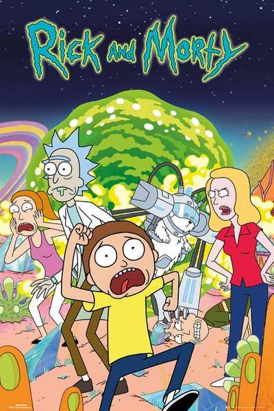 poster-rick-y-morty